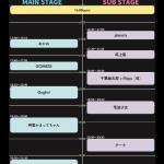 clubEARTH 11th Anniversary 対バンアーティスト.プロフィール